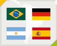 Les Favoris de la Coupe du monde